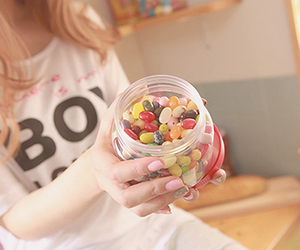 candy, food, and nails image