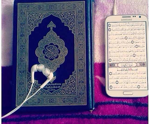islam, muslim, and quran image