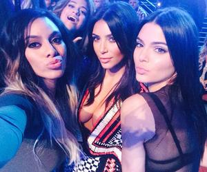 kim kardashian, kendall jenner, and fifth harmony image
