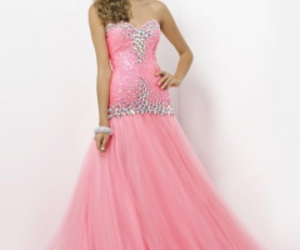 pink prom dresses, beaded prom dresses, and prom dresses 2014 image