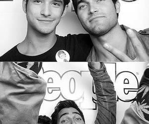 tyler posey, tyler hoechlin, and teen wolf image