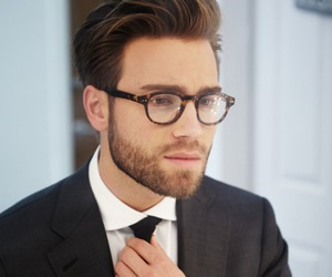 glasses, sexy, and man image