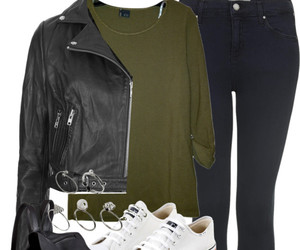 fashion, Polyvore, and converse image