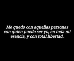 frases, libertad, and personas image