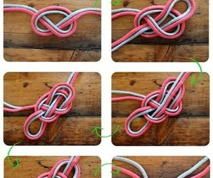 diy, heart, and knot image