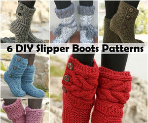 boots, crafts, and crochet image