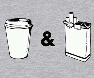 cigarette and coffee image