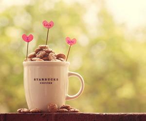 love, starbucks, and coffee image