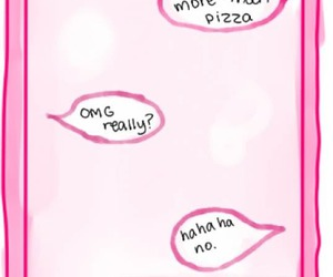 pizza, love, and text image