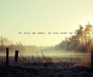dear, fell, and me image