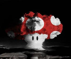 boom, explosion, and fungus image