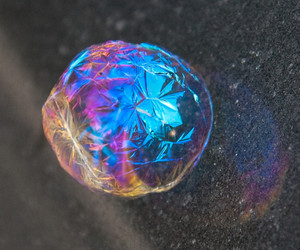 bubble, frozen, and awesome image