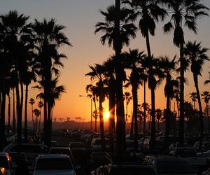 sunset, summer, and sun image