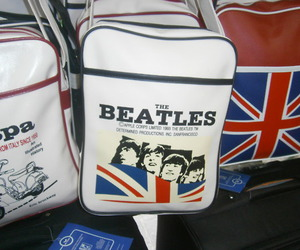 bags, the beatles, and england image