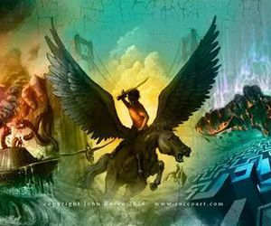 percy jackson, book, and pjo image