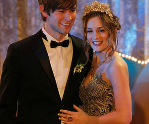 gossip girl, blair waldorf, and nate archibald image