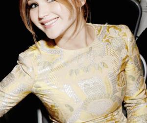 Jennifer Lawrence, smile, and hunger games image