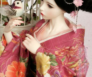 beautiful, doll, and japanese image