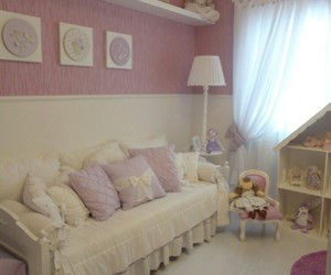 pink, baby, and room image