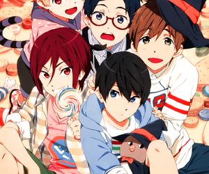 anime, cuteness, and haruka nanase image
