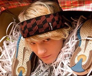 blond, dougie poynter, and Hot image