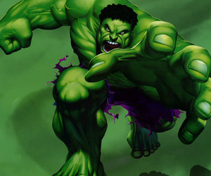 angry, giant, and green image