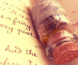 magic, book, and glitter image