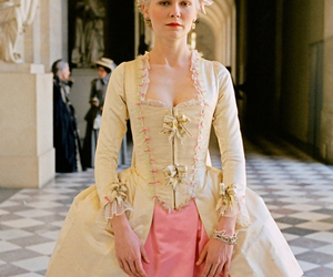marie antoinette, Kirsten Dunst, and dress image