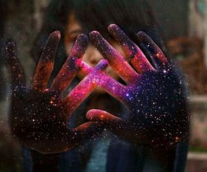 amazing, glitter, and hands image