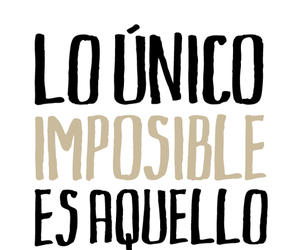 frases, impossible, and try image