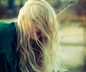 blonde, girl, and photography image