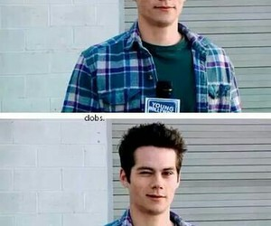 teen wolf, dylan o'brien, and love image