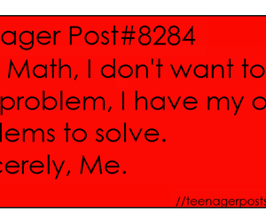 math, me, and problems image