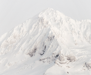 white, mountains, and snow image