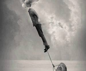 balloon, people, and Dream image