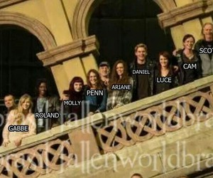 cast, fallen, and movie image