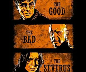 severus, good, and harry potter image