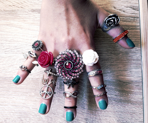 accessories, many, and nails image
