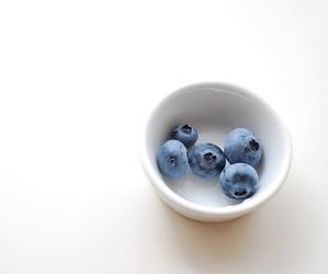 fruit, white, and blueberry image