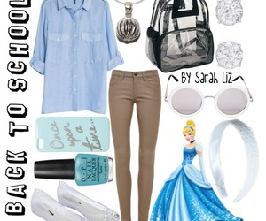 cinderella, disney, and outfit image