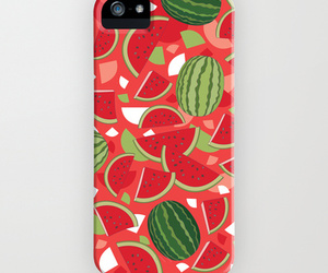 case, red, and watermelon image