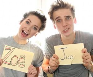 zoella, joe, and joe sugg image