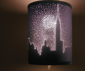 lamp, diy, and city image