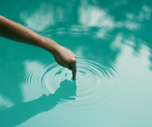 water, blue, and photography image