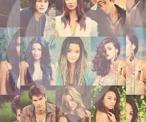 spencer, aria, and pretty little liars image