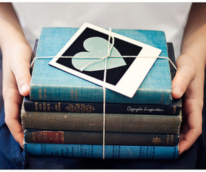 blue, read, and cute image