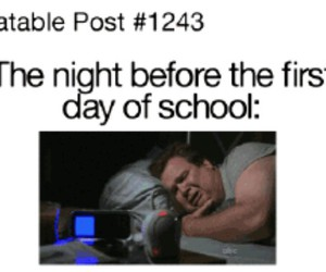 day, funny, and school image