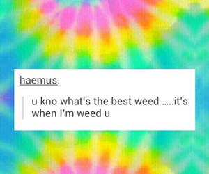weed and cute image
