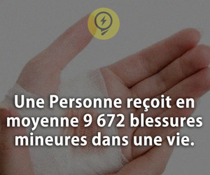blessures and le saviez vous ? image