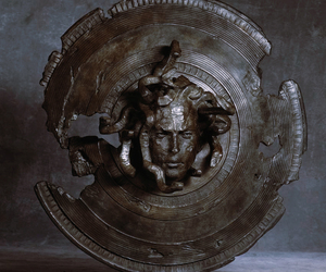 art, greek, and medusa image